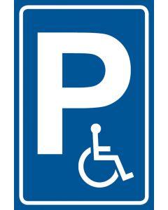 Parkschild Nur für Behinderte · Aufkleber | Schild | Magnetschild