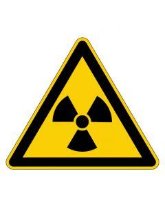 Warnzeichen · Aufkleber | Schild | Magnetschild | Fußbodenaufkleber · Warnung vor radioaktiven Stoffen
