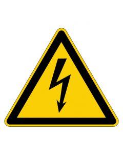 Warnzeichen · Aufkleber | Schild | Magnetschild | Fußbodenaufkleber · Warnung vor elektrischer Spannung