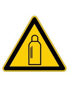 Warnzeichen · Aufkleber | Schild | Magnetschild | Fußbodenaufkleber · Warnung vor Gasflaschen