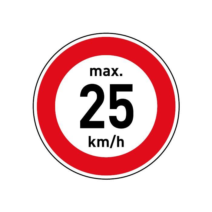 6 km//h    Aufkleber